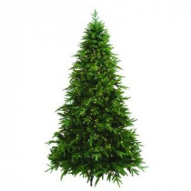 General Foam 7.5 ft. Pre-Lit Ultima Artificial Christmas Tree with Clear and Multi-Colored 8-Function LED Lights-HD-RAF166227DC 206967575