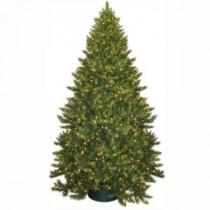 General Foam 9 ft. Pre-Lit Carolina Fir Artificial Christmas Tree with Clear Lights-HD-21690C9 203321347