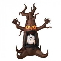 Gerson 82.7 in. Electric Inflatable Lighted Haunted Ghost Tree-2227010 206498754
