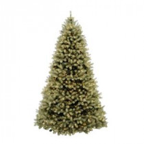 Home Accents Holiday 10 ft. Pre-Lit Downswept Douglas Fir Artificial Christmas Tree with Clear Lights-PEDD1-312-100 202214939