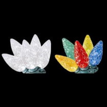 Home Accents Holiday 100-Light C6 LED Faceted Color-Changing Warm White to Multi-Color Lights-TY-100FC6-WWM 204081167