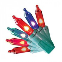 Home Accents Holiday 150-Light Incandescent Red, Green and Blue 8-Function Light Set-TY150L-8FM 205092331
