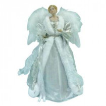 Home Accents Holiday 18 in. Silver LED Fiber Optic Angel-A-7070C 206954496