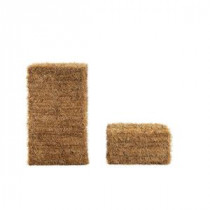 Home Accents Holiday 20 in. and 32 in. PVC Hay Bale Set-TY017-1619 206763024