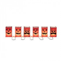 Home Accents Holiday 3-Light Luminary Bag with Pumpkin Face Light String (Set of 2)-TY046-1024-1 206770938