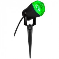 Home Accents Holiday 3.5 in. LED Green Outdoor Spotlight-88092 204070176