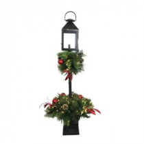 Home Accents Holiday 4 ft. Artificial Lantern Porch Tree with 70 Lights-BOWOTHD156 205915450