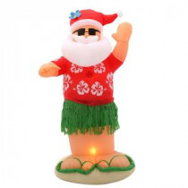 Home Accents Holiday 6 ft. Inflatable Animated Santa Dances the Hula-86105 203266146