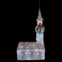 Home Accents Holiday 6 ft. Pre-Lit Twinkling Church-TY372-1411 205152649