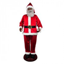 Home Accents Holiday 72 in. Animated Ethnic Santa-6230-72519 206954037