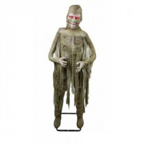 "Home Accents Holiday 72 in. Animated Mummy with ""Twisting Body"" and Mouth Movement-6330-72097 206762965"
