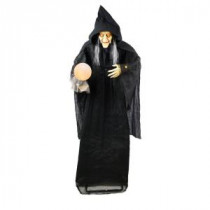 Home Accents Holiday 72 in. Standing Witch with Glowing Orb-6330-72692 206770855