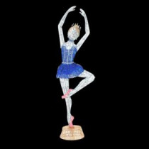 Home Accents Holiday 78 in. LED Lighted Twinkling Tinsel Ballerina-TY508-1614-4 206954267