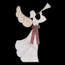 Home Accents Holiday 8 ft. Pre-Lit Angel with Horn-TY503-1511-0 205983456