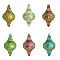 Home Accents Holiday Alpine Holiday Botanical Finial Ornament (12-Count)-MSL-AH24-804 207045447