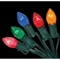 Home Accents Holiday C7 25-Light Multi-Color Incandescent Light String-W11C0054 205919432