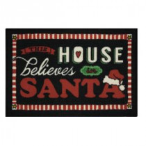 Home Accents Holiday This House Chalk 17 in. x 29 in. Printed Holiday Mat-520939 207037218