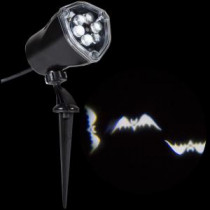 LightShow 11.81 in. Projection Whirl-a-Motion-Bats White-59562 206762450