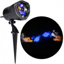 LightShow 11.81 in. Projection-Whirl-a-Motion-Happy Graduation Grad Caps (BBCW) Light Stake-49380 206832932