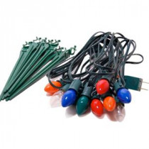 Lumabase Multicolor Electric Pathway Lights String (Set of 10)-61810 203406450