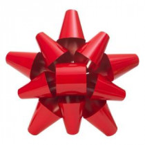Martha Stewart Living 19 in. Red Metal Bow-2204100HD 205915147