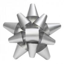 Martha Stewart Living 19 in. Silver Metal Bow-2204090HD 205915121