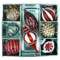 Martha Stewart Living Winter Tiding Ornament (8-Count)-C-16769D 206954375