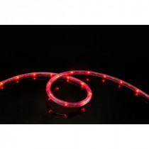 Meilo 16 ft. LED Red Rope Lights-ML12-MRL16-RD 203645834