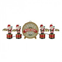 Mr. Christmas 6 in. Santa's Marching Band-23607 206998869