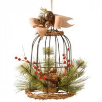 National Tree Company 13 in. Bird Cage Decor-RAC-15318DS13 300487260
