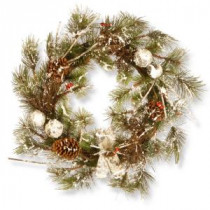 National Tree Company 24 in. Christmas Artificial Wreath-RAC-W060427A 300154652
