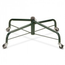 National Tree Company 28 in. Folding Tree Stand with Rolling Wheels for 7 1/2 ft. to 8 ft. Trees-FTS-28R-1 300496363