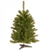 National Tree Company 3 ft. Eastern Spruce Artificial Christmas Tree-ES-30-1 207183163