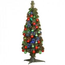 National Tree Company 3 ft. Fiber Optic Fireworks Ornament Artificial Christmas Tree-SZOX7-173-36 205331316