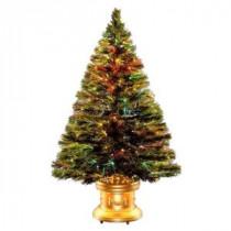 National Tree Company 3 ft. Fiber Optic Radiance Fireworks Artificial Christmas Tree-SZRX7-100-36-1 205331320