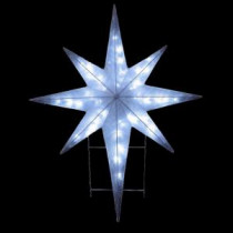 National Tree Company 42 in. Star Decoration with LED Lights-DF-064001C 205577230