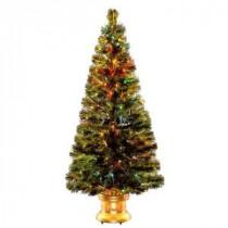 National Tree Company 5 ft. Fiber Optic Radiance Fireworks Artificial Christmas Tree-SZRX7-100L-60 300496188