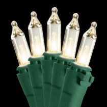 National Tree Company 50-Light Clear Bulb String Light Set-LS-809-50 205331441