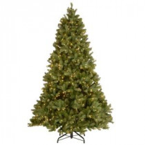 National Tree Company 6 ft. Downswept Douglas Fir Artificial Christmas Tree with Clear Lights-PEDD3-312-60 205330693