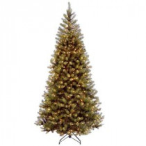 National Tree Company 7-1/2 ft. Aspen Spruce Hinged Artificial Christmas Tree with 450 Clear Lights-AP7-300-75 207183113