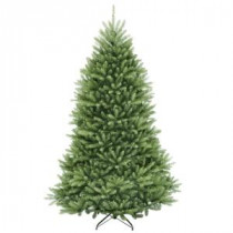 National Tree Company 7 ft. Dunhill Fir Hinged Artificial Christmas Tree-DUH-70 207183153