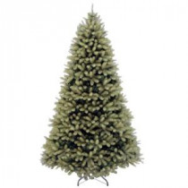 National Tree Company 7 ft. Feel Real Down Swept Douglas Fir Hinged Artificial Christmas Tree-PEDD1-503-70 207183248