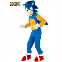 Rubie's Costumes Boys Deluxe Sonic Costume-R881452_M 205478926