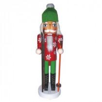 Santa's Workshop 14 in. Ski Bum Nutcracker with Skis-70918 207146894