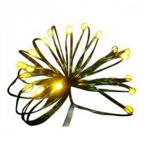 Starlite Creations 9 ft. 36-Light Battery Operated LED Gold Ultra Slim Wire (Bundle of 2)-BA03-Y036-A1B 202371874